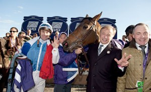 High point: Goldikova's hat-trick